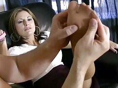 Lujosa rubia llevó al videos de mujeres maduras peludas hombre a una poderosa eyección de esperma